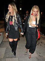 Tina Stinnes and Lottie Moss at the Bluebird Cafe launch party, Bluebird Cafe, Television Centre White City, Wood Lane, London, England, UK, on Tuesday 10 April 2018.<br /> CAP/CAN<br /> &copy;CAN/Capital Pictures