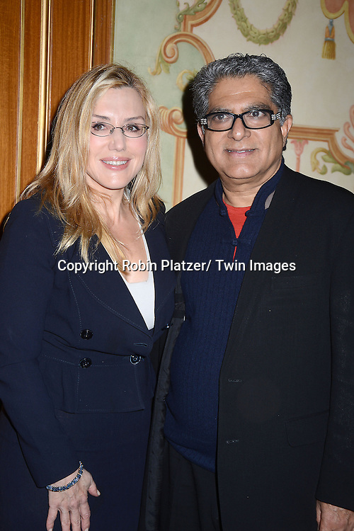 Deepak Chopra attends the Police Athletic League's  24th Annual Women of the Year Luncheon on December 10, 2012 at the Pierre Hotel in New York City. The honorees were Dolly Lenz, Liz Smith, Deepak Chopra, Siobham Schroth and Francine LeFrak.