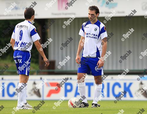 2010-06-20 / Voetbal / seizoen 2010-2011 / KSK Heist / Sedat Özturk (r)..Foto: mpics