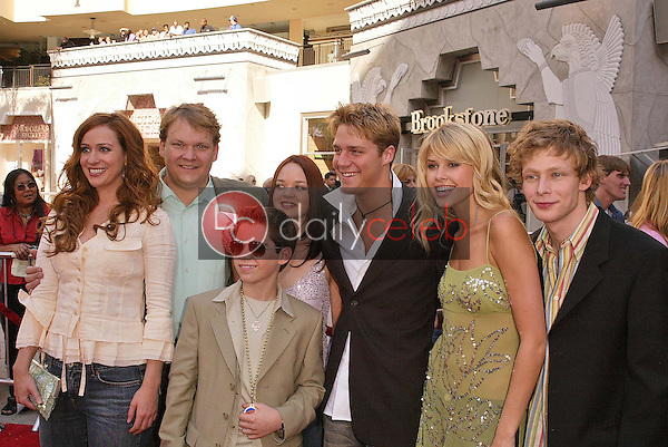 Andy Richter and family