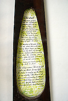 Poem entitled This Shell by Edward James in the Edward James Museum  in Xilitla, San Luis Potosi state, Mexico
