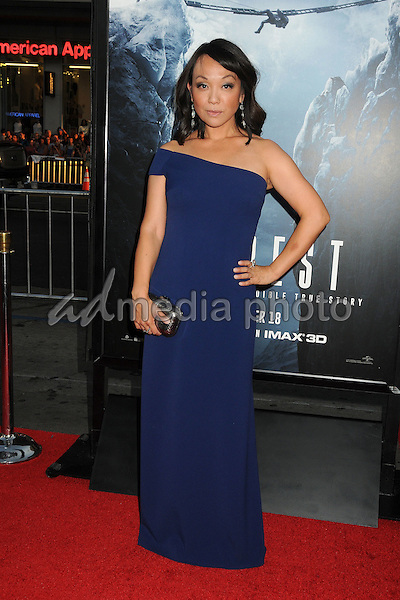 "9 September 2015 - Hollywood, California - Naoko Mori. ""Everest"" Los Angeles Premiere held at the TCL Chinese Theatre. Photo Credit: Byron Purvis/AdMedia"