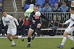13 December 2009: Virginia's Will Bates (25). The University of Virginia Cavaliers defeated the University of Akron Zips 3-2 in penalty kicks following a 0-0 overtime tie at WakeMed Soccer Stadium in Cary, North Carolina in the NCAA Division I Men's College Cup Championship game.