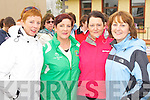 Mary Dineen, Ann Hartnett, Liz Moriarty and Kathleen Walsh keeping fit at the Good Friday walk in Castleisland ..
