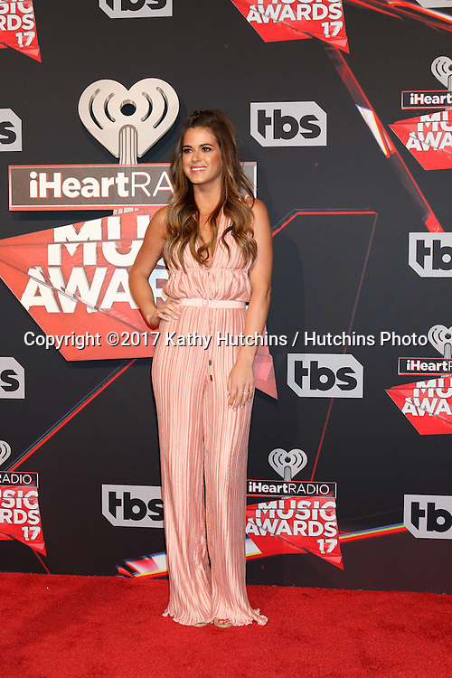 LOS ANGELES - MAR 5:  Jojo Fletcher at the 2017 iHeart Music Awards at Forum on March 5, 2017 in Los Angeles, CA