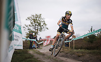 Jolien Verschueren (BEL/Young Telenet-Fidea)<br /> <br /> Elite Women's race<br /> Superprestige Zonhoven 2015