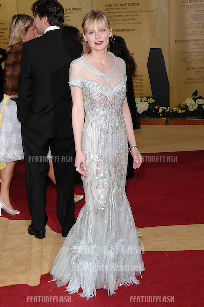 Kirsten Dunst at the 79th Annual Academy Awards at the Kodak Theatre, Hollywood..February 26, 2007  Los Angeles, CA.Picture: Paul Smith / Featureflash