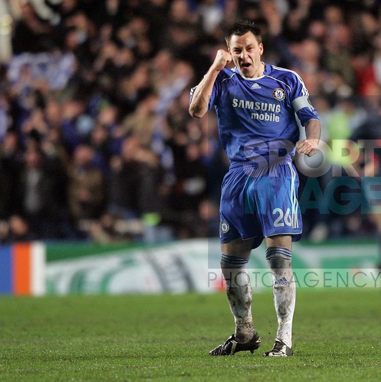 Chelsea's John Terry celebrates