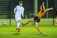 Friday  16 December 2014<br /> Pictured:  <br /> Re: Swansea City U18s v Wolverhampton Wonderers U18s, 3rd Round FA youth Cup Match at the Landore Training Facility, Swansea, Wales, UK
