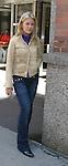 "One Life To Live's Bree Williamson ""Jessica Buchanan/Tess"" takes a break outside the OLTL studio on 9-21-06. (Photo by Sue Coflin/Max Photos)"