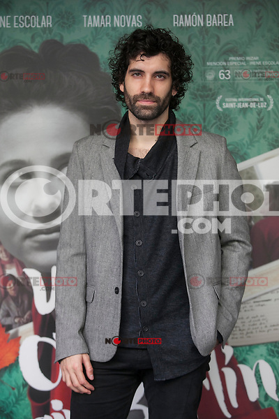 Actor Tamar Novas poses during `Un otono sin Berlin´ film presentation in Madrid, Spain. November 10, 2015. (ALTERPHOTOS/Victor Blanco)