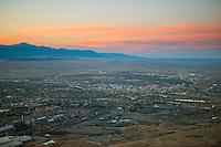 Pueblo Colorado at sunset. Oct 2012