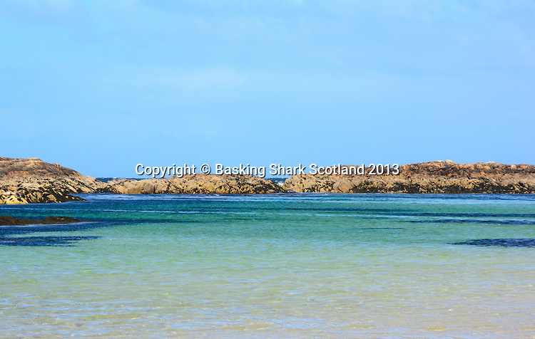 Stunning waters on the island of Coll
