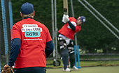 Issued by Cricket Scotland - Scotland V Afghanistan 1st One Day International - Grange CC - Brain Tumour Trust image - picture by Donald MacLeod - 08.05.19 - 07702 319 738 - clanmacleod@btinternet.com - www.donald-macleod.com