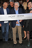 Robert De Niro at the Nobu Hotel Shoreditch official launch party, Nobu Hotel Shoreditch, Willow Street, London, England, UK, on Tuesday 15 May 2018.<br /> CAP/CAN<br /> &copy;CAN/Capital Pictures