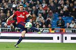 Osasuna´s Roberto Torres during King´s Cup match in Santiago Bernabeu stadium in Madrid, Spain. January 09, 2014. (ALTERPHOTOS/Victor Blanco)