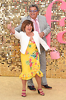 Janette and Ian Tough (The Krankies)<br /> arrives for the World Premiere of &quot;Absolutely Fabulous: The Movie&quot; at the Odeon Leicester Square, London.<br /> <br /> <br /> &copy;Ash Knotek  D3137  29/06/2016