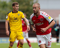 Fleetwood Town's Paddy Madden in action<br /> <br /> Photographer David Shipman/CameraSport<br /> <br /> The EFL Sky Bet League One - Oxford United v Fleetwood Town - Saturday August 11th 2018 - Kassam Stadium - Oxford<br /> <br /> World Copyright &copy; 2018 CameraSport. All rights reserved. 43 Linden Ave. Countesthorpe. Leicester. England. LE8 5PG - Tel: +44 (0) 116 277 4147 - admin@camerasport.com - www.camerasport.com