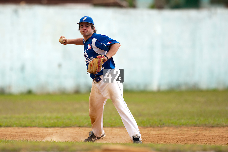 BASEBALL - POLES BASEBALL FRANCE - TRAINING CAMP CUBA - HAVANA (CUBA) - 13 TO 23/02/2009 - ARTHUR PARADINAS (FRANCE)
