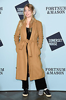 Nel Hudson<br /> arriving for the Skate at Somerset House 2017 opening, London<br /> <br /> <br /> ©Ash Knotek  D3351  14/11/2017