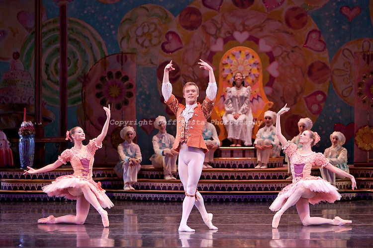 Texas Ballet Theater perform The Nutcracker at the Winspear Opera House on December 9, 2010 in Dallas, TX. Ben Stevenson O.B.E.