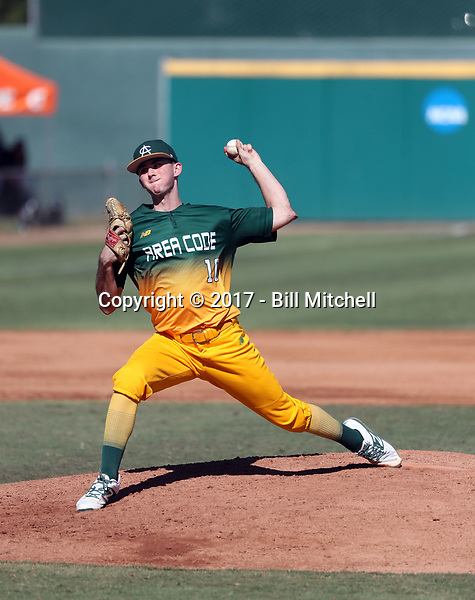 Lucas Gather plays in the 2017 Area Code Games on August 6-10, 2017 at Blair Field in Long Beach, California (Bill Mitchell)