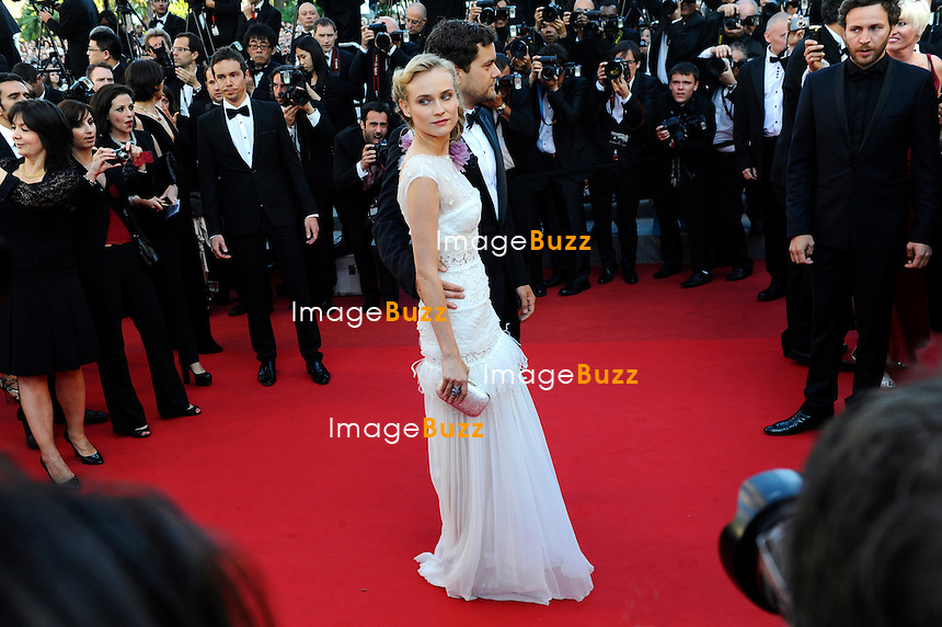 """Diane Kruger attends the """" Killing them softly """" premiere at the 65th Cannes Film Festival at the Palais des Festivals..May 22, 2012"""