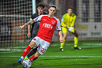 Fleetwood Town's forward Ashley Hunter (22) during the The Leasing.com Trophy match between Fleetwood Town and Liverpool U21 at Highbury Stadium, Fleetwood, England on 25 September 2019. Photo by Stephen Buckley / PRiME Media Images.
