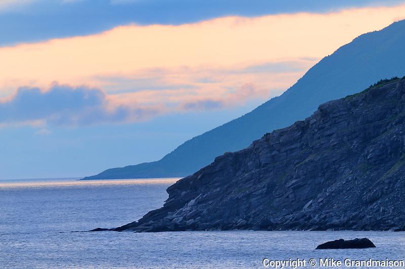 St. Lawrence Bay<br /> Cape Breton near Meat Cove<br /> Nova Scotia<br /> Canada