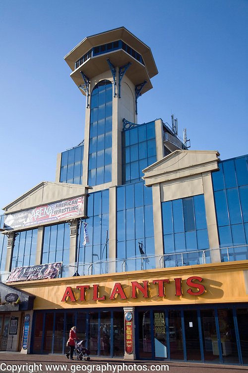 The Atlantis Centre entertainment venue, Great Yarmouth, Norfolk, England