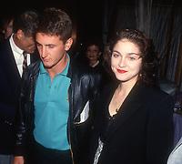Sean Penn Madonna 1990<br /> Photo By John Barrett/PHOTOlink.net