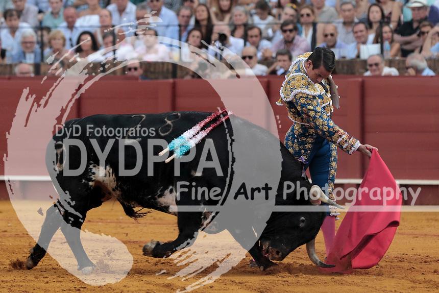 Bullfighter Jose Mari Manzanares.
