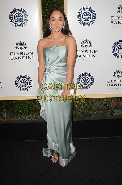 LOS ANGELES, CA - JANUARY 7: Cara Santana at the The Art Of Elysium Tenth Annual Celebration 'Heaven' Charity Gala at Red Studios in Los Angeles, California on January 7, 2017. <br /> CAP/MPI/DE<br /> &copy;DE/MPI/Capital Pictures