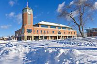 Campus Snow Scenes_2-10-17