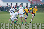 Ballyduff v Listowel Emmets in their North Kerry football final clash at Moyvane on St Stephens Day.