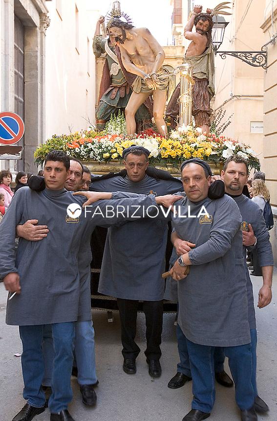 Pasqua in Sicilia. .Venerdì Santo, i Misteri di Trapani. Ph Fabrizio Villa.