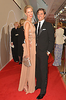 "Karolina Kurkova and husband Archie Drury attending the ""Rosenball"" Charity Gala in favor of the ""Stiftung Deutsche Schlaganfallhilfe"" held at the Hotel Intercontinental in Berlin, Germany, 09.06.2012...Credit: Michael Wiese/face to face /MediaPunch Inc. ***FOR USA ONLY*** NORTEPHOTO.COM"