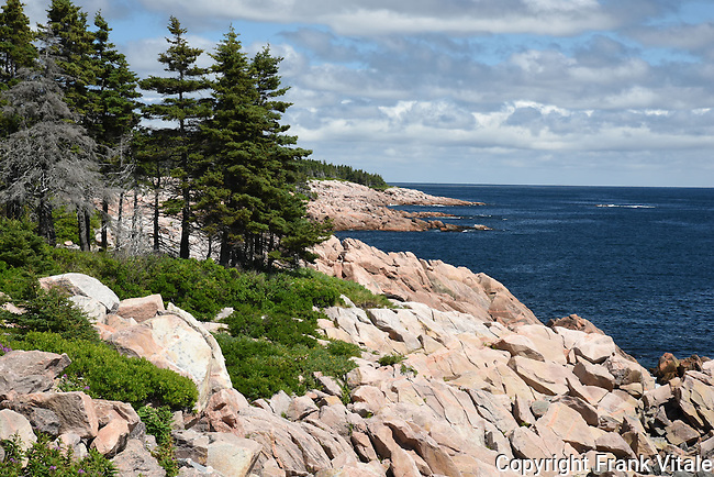 Cape Breton Highlands National Park Rocky Coast in Canadian Maritimes