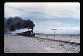 D&amp;RGW #491 hauling tank cars, possibly in the Alamosa area.<br /> D&amp;RGW  Alamosa area ?, CO