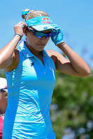 Lexi Thompson (USA) departs the 10th tee during round 1 of  the Volunteers of America Texas Shootout Presented by JTBC, at the Las Colinas Country Club in Irving, Texas, USA. 4/27/2017.<br /> Picture: Golffile | Ken Murray<br /> <br /> <br /> All photo usage must carry mandatory copyright credit (&copy; Golffile | Ken Murray)