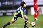KimMyong Sun (PRK), <br /> DECEMBER 11, 2017 - Football / Soccer : <br /> EAFF E-1 Football Championship 2017 Women's Final match <br /> between North Korea 1-0 South Korea <br /> at Fukuda Denshi Arena in Chiba, Japan. <br /> (Photo by Naoki Nishimura/AFLO)