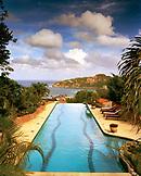NICARAGUA, San Juan Del Sur, the pool at Hotel Pelican Eyes or Piedras Olas