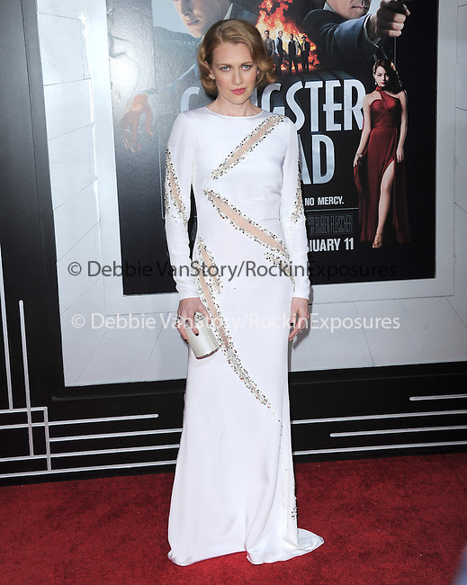 Mireille Enos at Warner Bros Pictures' L.A. Premiere of Gangster Squad held aat The Grauman's Chinese Theater in Hollywood, California on January 07,2013                                                                   Copyright 2013 Hollywood Press Agency