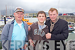 ENJOYING: Austin Stack with Rory and Francie Conway enjoying the Fenit Lifeboat Regatta on Sunday..