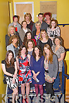 CHRISTMAS TIME: Member's of the Kerry Riding Club having great fun at their Christmas Party at the Kingdom Greyhound Stadium on Friday pictured Brenda Hayes, Mary Concannon, Kallam Moriarty, Martine Moriarty, Samantha Kelly, Louise Brassil, Carolann O'Sullivan, Eimear Matthews, Jacqueline Higgins, Mary Bradley, Michelle Stack, Helen O'Brien, Sinead Stack, Ciara O'Connor, Felicity Bentley, Avril Geary and Claire Shannon.