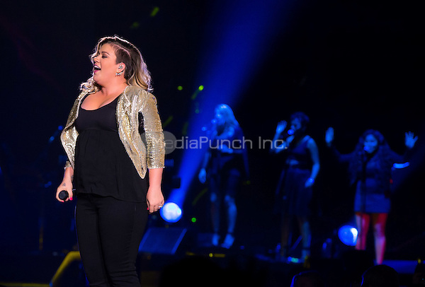 LAS VEGAS, NV - August 15: ***HOUSE COVERAGE*** Kelly Clarkson performs at Mandalay Bay Events Center at Mandalay Bay Resort in Las Vegas, NV on August 15, 2015. Credit: Erik Kabik Photography/ MediaPunch