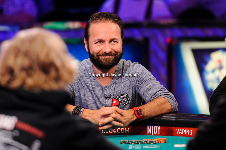 Daniel Negreanu all in and doubles up
