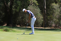 Thorbjorn Olesen (DEN) in action on the 1st during Round 3 of the ISPS Handa World Super 6 Perth at Lake Karrinyup Country Club on the Saturday 10th February 2018.<br /> Picture:  Thos Caffrey / www.golffile.ie<br /> <br /> All photo usage must carry mandatory copyright credit (&copy; Golffile | Thos Caffrey)