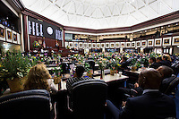TALLAHASSEE, FLA. 3/4/14-House Speaker Will Weatherford, R-Wesley Chapel, addresses the House during the opening day of the legislative session, March 4, 2014 at the Capitol in Tallahassee.<br /> <br /> COLIN HACKLEY PHOTO
