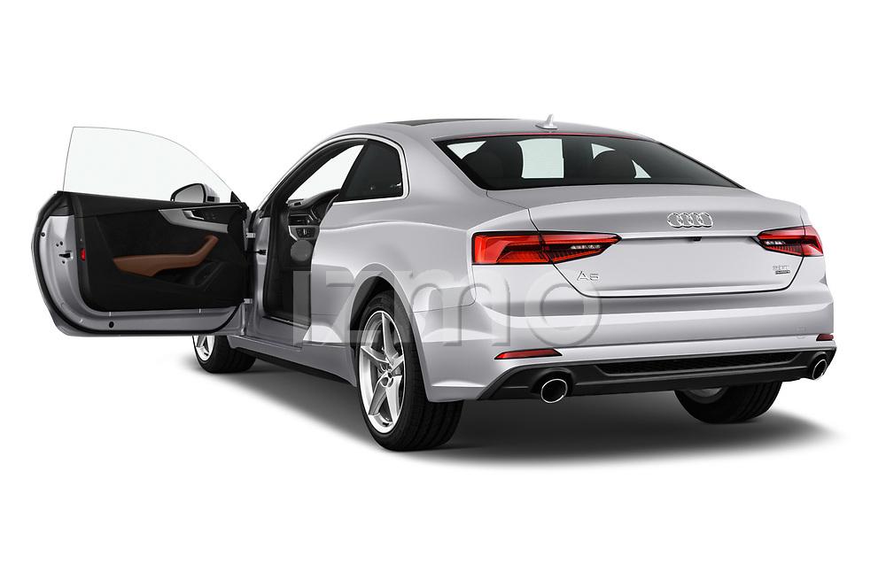Car images close up view of 2018 Audi A5  Premium 2 Door Coupe doors